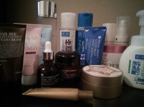 2015 Winter/spring Korean skin care routine