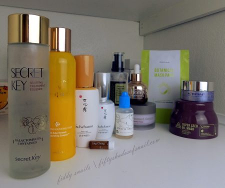 Fifty Shades of Snail skincare routine