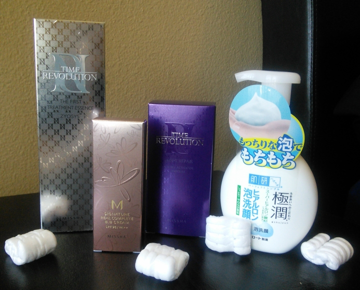 February's Missha and Hada Labo Haul. Reviews Coming Soon!