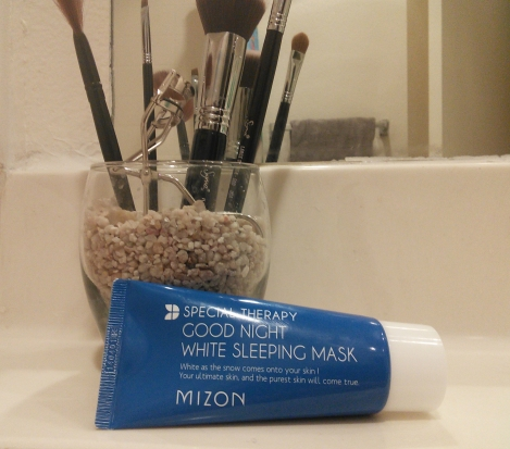 Mizon Good Night White package copy