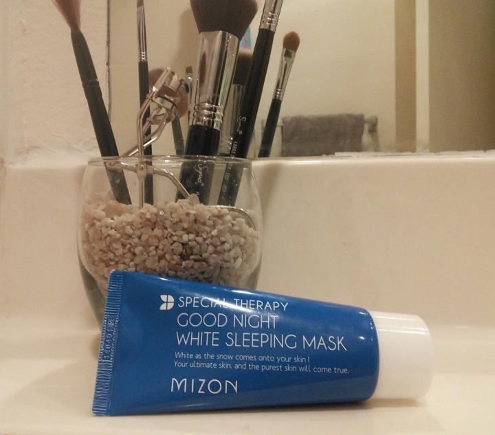 Mizon Good Night White package copy