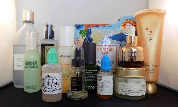 Asian skincare routine