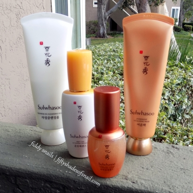 Sulwhasoo skincare products