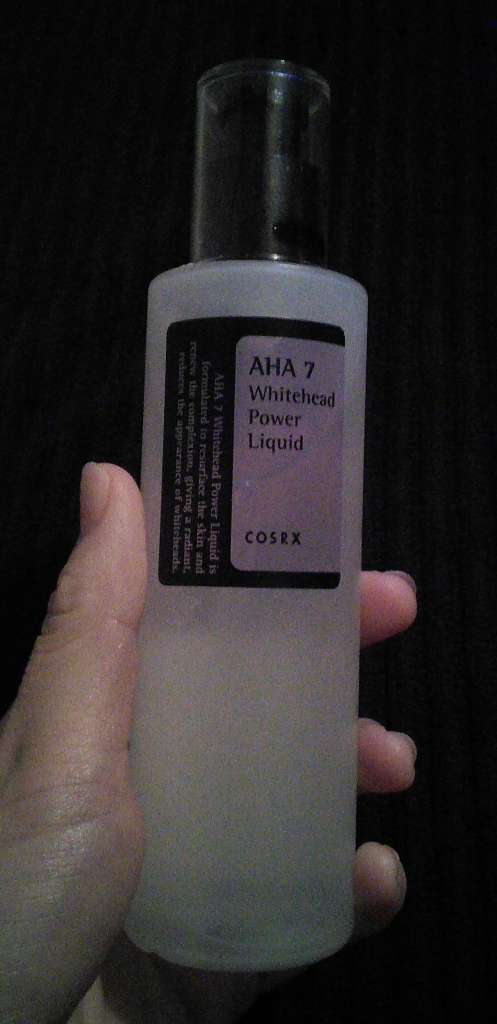 Bottle of CosRX AHA 7 Whitehead Power Liquid