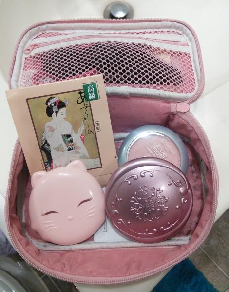 Makeup in Etude House Hong Kong makeup bag