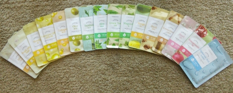 Etude House I Need You sheet mask stash