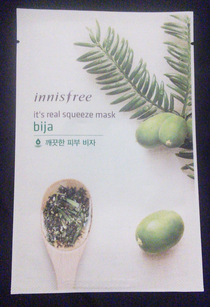 Innisfree It's Real Squeeze Mask, Bija