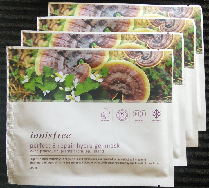 Innisfree Perfect 9 Hydrogel Masks