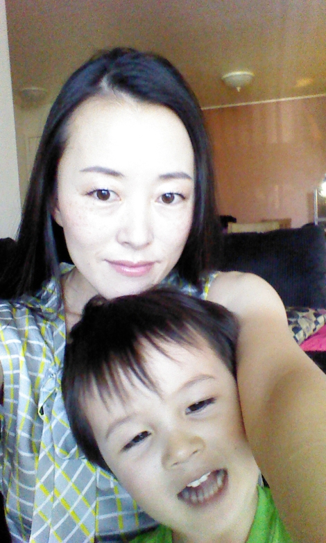 Face of the Day with child