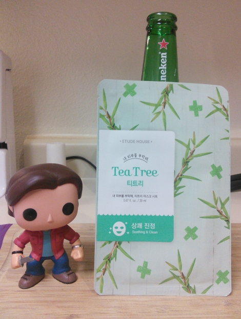 Etude House I Need You sheet mask in Tea Tree