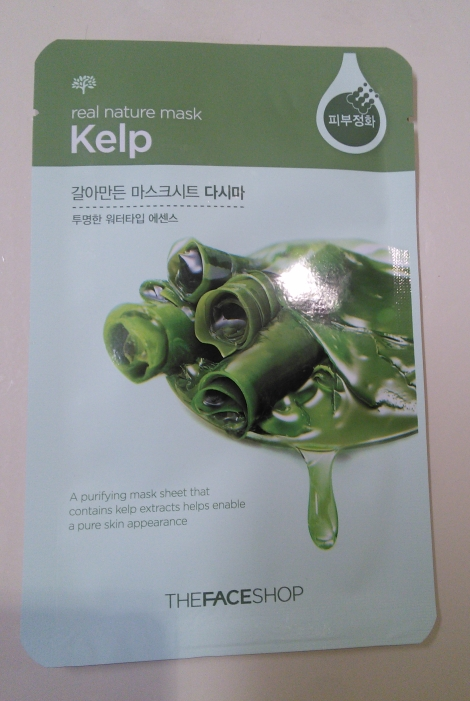 The Face Shop Real Nature Mask in Kelp