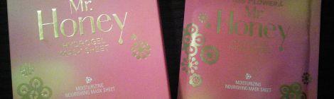 Banila Co Miss Flower & Mr Honey Hydrogel Mask packaging