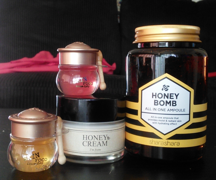 Honey-based skin and lip care products