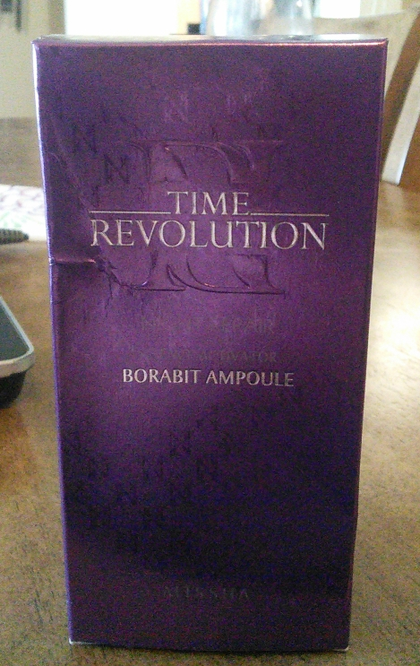 Missha Time Revolution Night Repair Science Activator Borabit Ampoule box