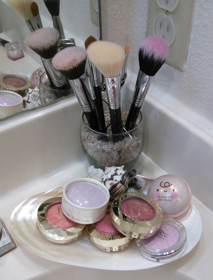 I Solved My Blush Storage Problem