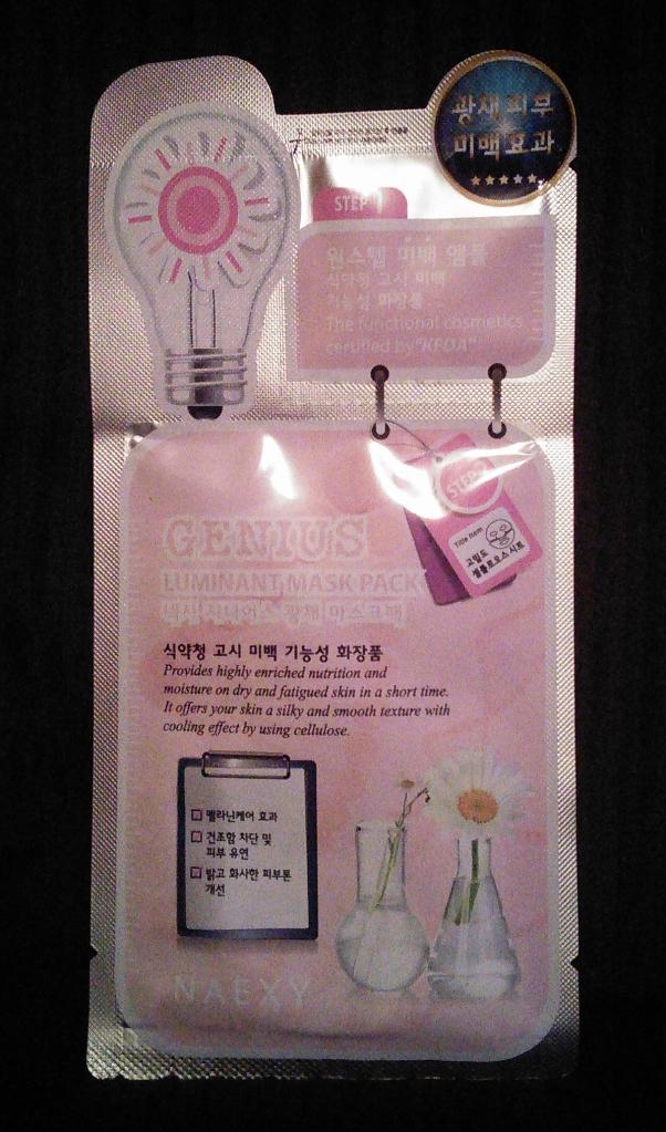 Naexy Genius Luminant Mask Pack