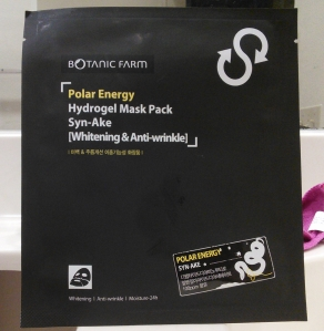 Botanic Farm Polar Energy Syn-Ake hydrogel mask