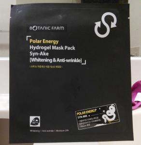 Botanic Farm Polar Energy Syn-Ake hydrogel mask
