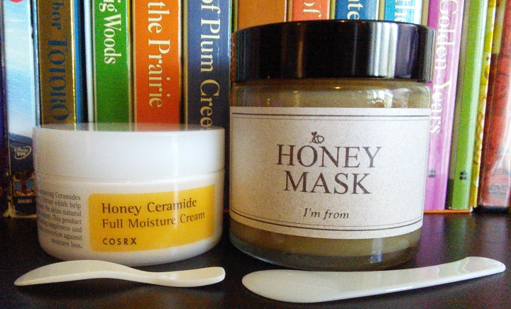 COSRX Honey Ceramide Cream and I'm From Honey Mask