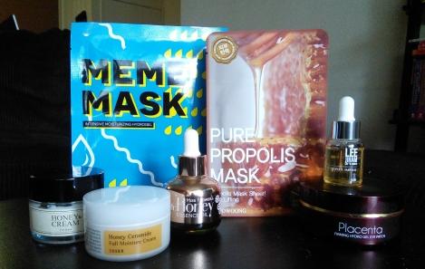 Korean skincare products containing adenosine