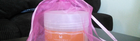 Annie's Way Honey Deep Moisturizing Jelly Mask with free accessories
