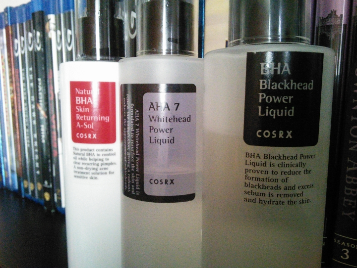 COSRX acid products