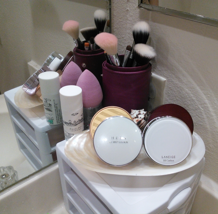 BB cushion organization