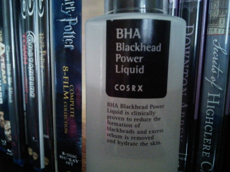 COSRX BHA Blackhead Power Liquid label close up