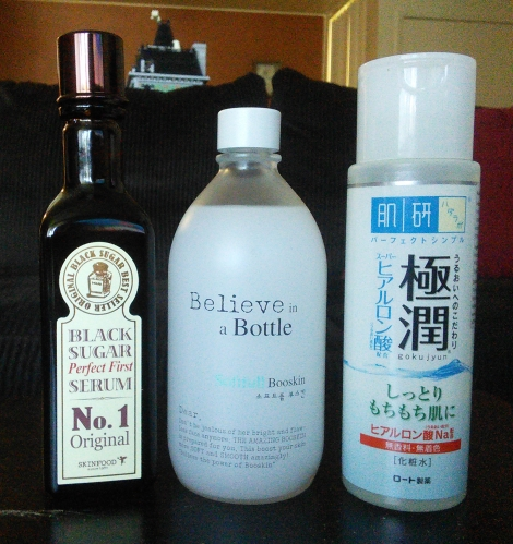 Hydrating toners from Korea and Japan