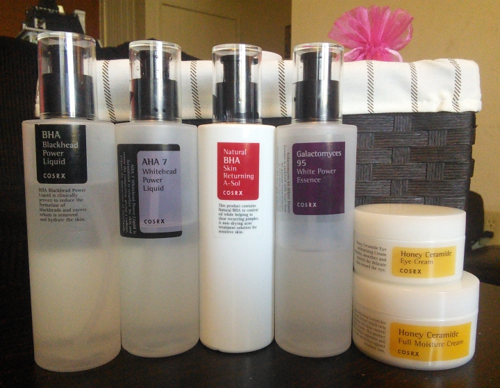 COSRX skincare products