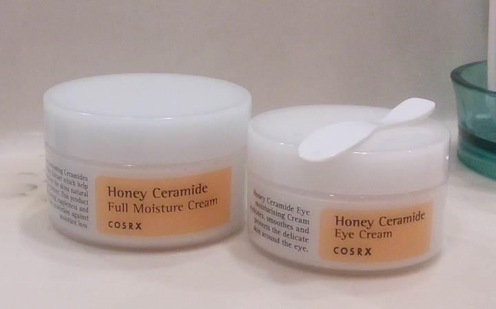 COSRX Honey Ceramide Eye Cream vs COSRX Honey Ceramide Full Moisture Cream