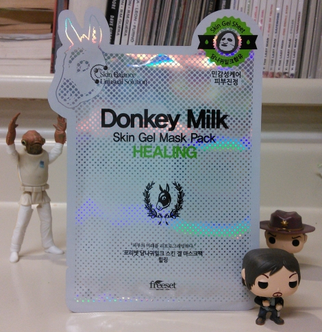 Freeset Donkey Milk Healing Skin Gel Mask Pack