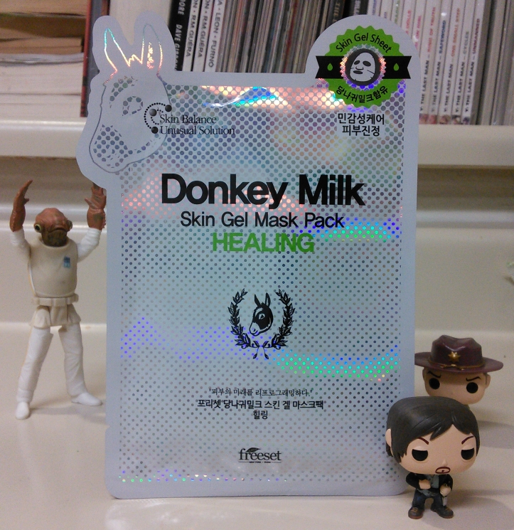 Freeset Donkey Milk Healing Skin Gel Mask Pack
