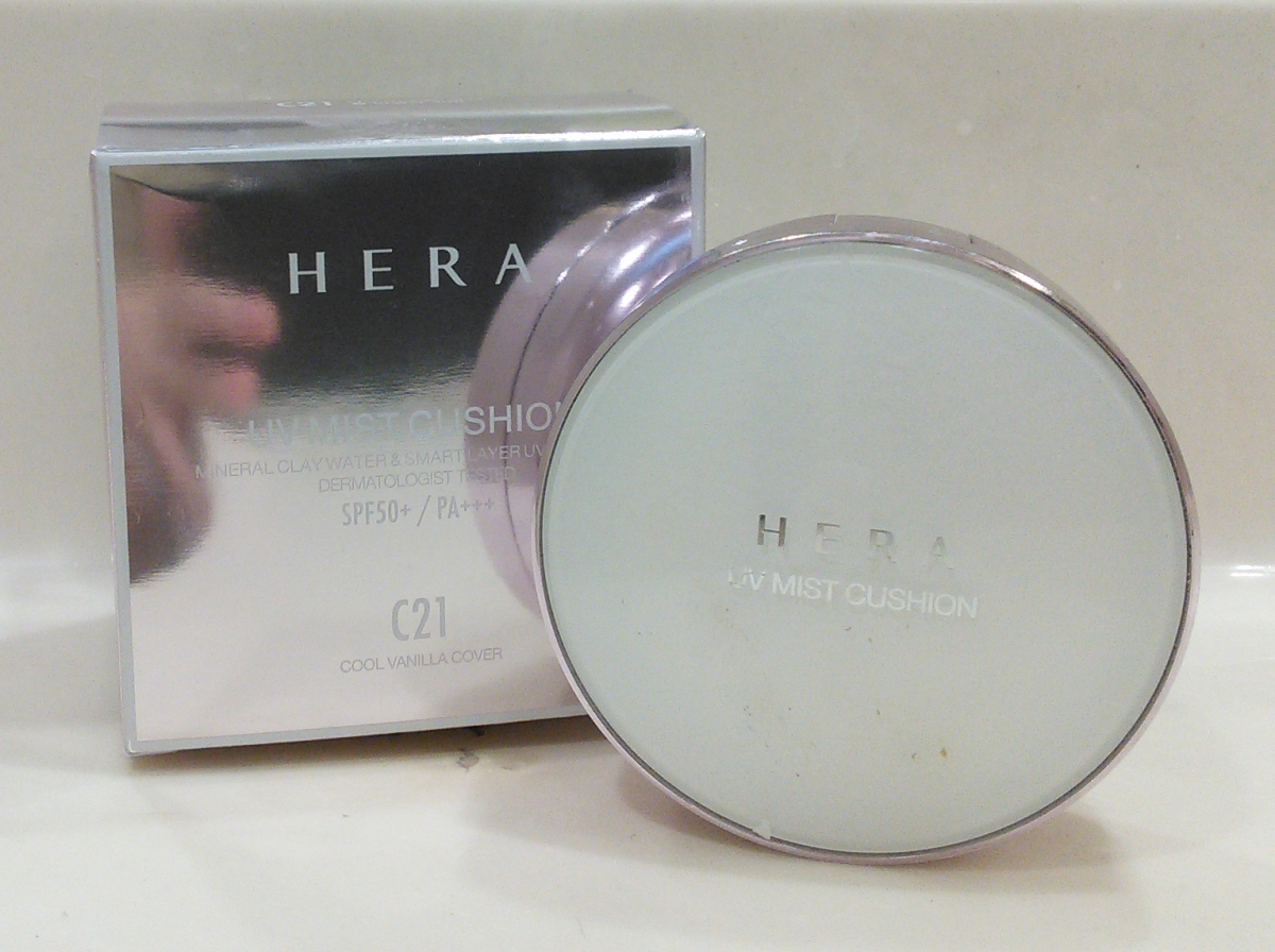 Review: HERA UV Mist Cushion, My Favorite Base Makeup Ever | Fifty