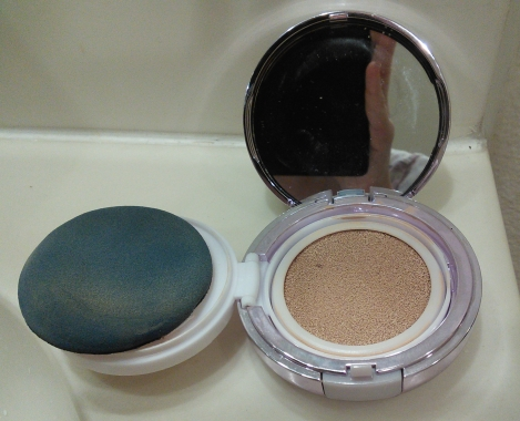 HERA UV Mist Cushion after two months use