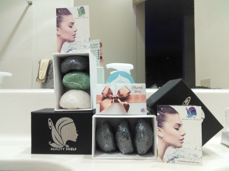 The Beauty Shelf new konjac sponge sets
