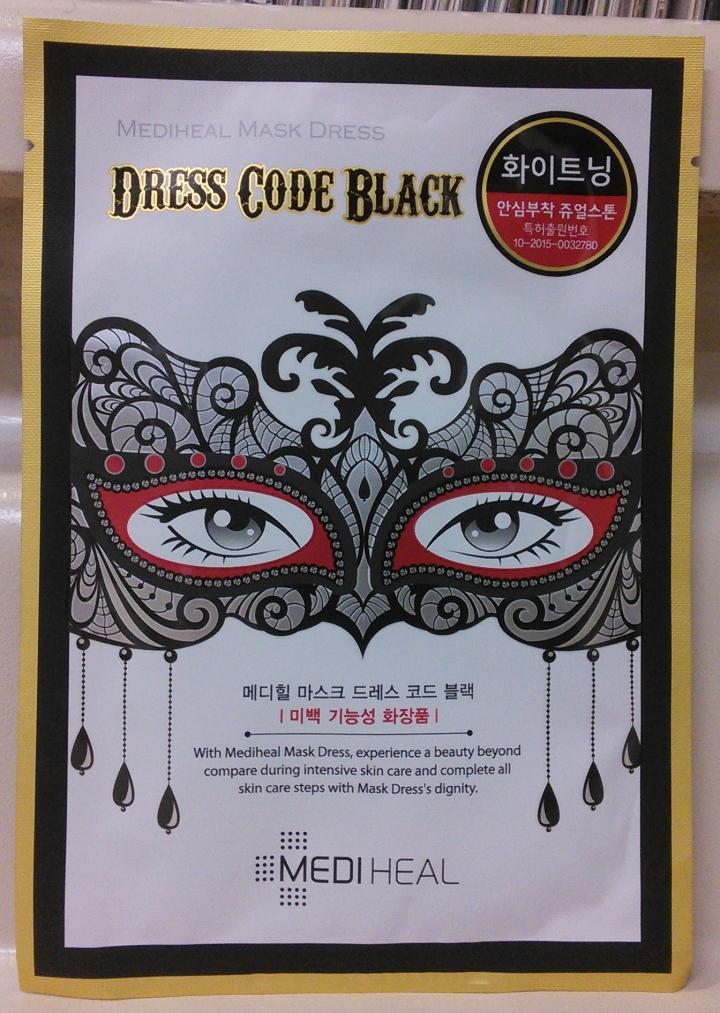 Triple Review Combo: Mediheal Dress Code Masks in Violet, Blue, andBlack