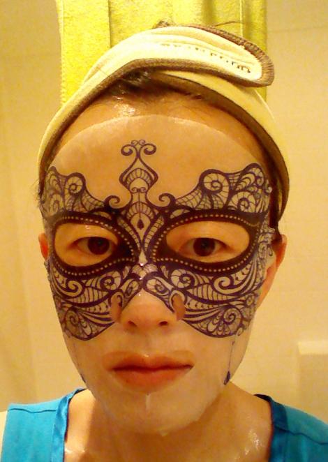 Review of Mediheal Dress Code Mask Blue