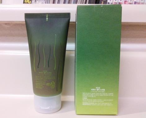 Mizon Seaweed Jelly Scrub packaging