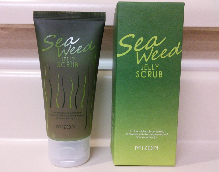 Mizon Seaweed Jelly Scrub review