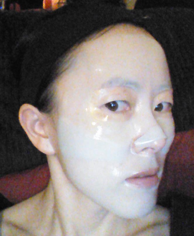 Nature Republic Aqua Collagen Solution Marine Hydro Gel Mask fit
