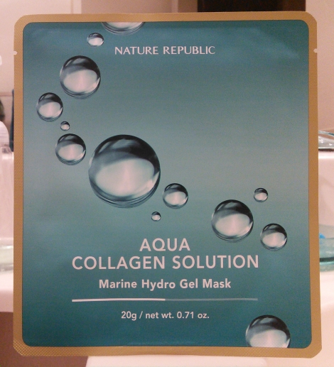 Nature Republic Aqua Collagen Solution Marine Hydro Gel Mask review