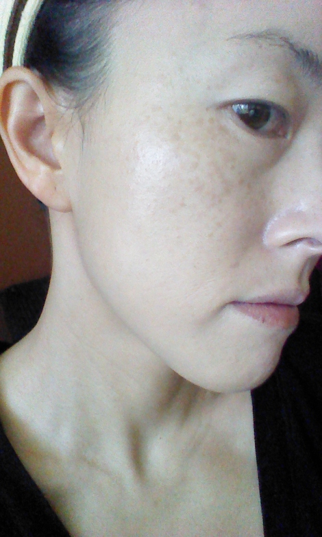 HERA UV Mist Cushion before and after