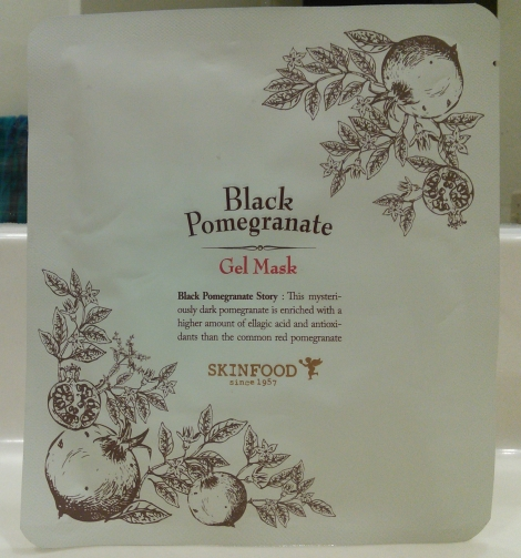 Skinfood Black Pomegranate Gel Mask review