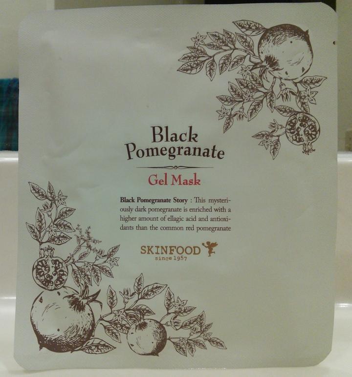 Skinfood Black Pomegranate Gel Mask review