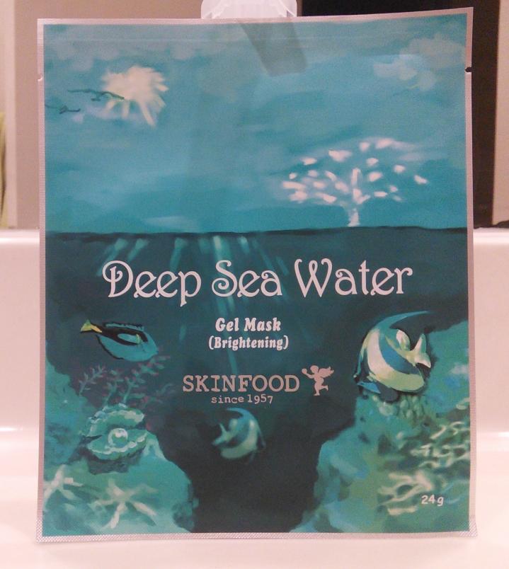 Skinfood Deep Sea Water brightening gel mask