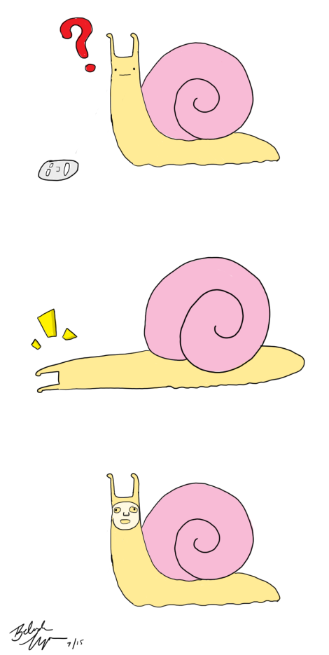 Snail's First Sheet Mask webcomic