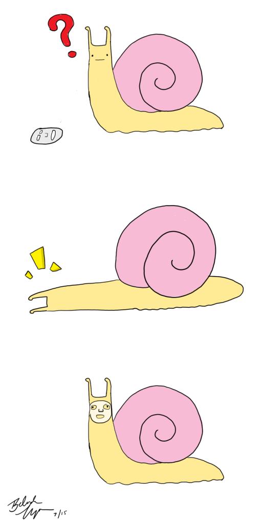 Snail's First Sheet Mask webcomic