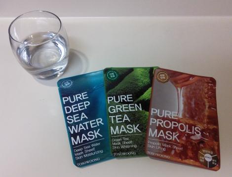 Tosowoong sheet masks