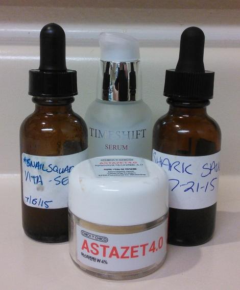 Antioxidants in skincare